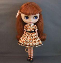Blythe Halloween Dress