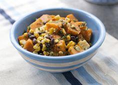 Food Healthy Black Bean Salad
