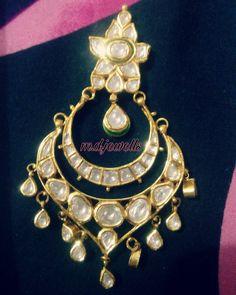 chand bala - M D Jewells - via WedMeGood Ear Rings, Necklaces, Bracelets, Fasion, Bali, Bracelet Watch, Jewelery, Desktop, Brooch