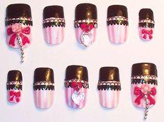Japanese Gyaru nail♡ 3d nail art