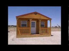 Derksen Portable Finished Cabins at Enterprise Center - YouTube