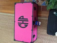 Monogrammed trunk. (Or some type of trunk. I'm actually not sure if I need one of these, but I see them a lot so?)