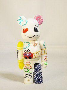 Medicom Toy Be@rbrick BEARBRICK 100% Series 17 Cute CRAYON White