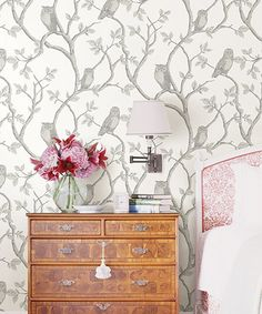 Another great find on #zulily! Enchanted Forest Gray Owl & Tree Wallpaper #zulilyfinds