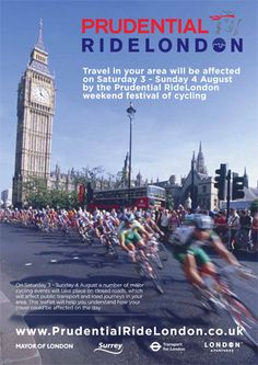 prudential ride london poster - Google Search