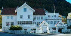 One of Norway's oldest hotels, Utne Hotel in the Hardangerfjord.