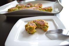 #Recipe   Broccoli Cheese Bites   Yummy Goodness   From the blog Inspiration & A Carry On   www.inspirationandacarryon.com Family Recipes, Family Meals, Broccoli Cheese Bites, Broccoli Patties, Veggies, Good Things, Breakfast, Blog, Inspiration