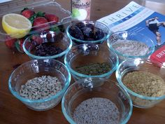 Chia seeds energy bars- I need to make these! Chia seeds are an amazing source of energy!