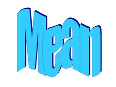mean-meant-meant