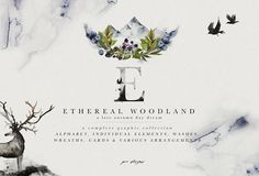Ethereal Woodland - Graphic Set by OpiaDesigns on @creativemarket