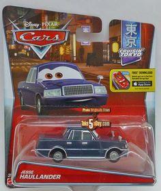 Mattel Disney Pixar CARS: Jesse Haullaander