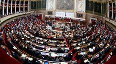 L'hémicycle de l'Assemblée.