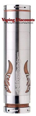 Bold Looks Make the Stingray X Mechanical Mod a Must Have | Vaping Discounts  Oooooh ... nice design.  I like my old Stingray, but this is very artsy.