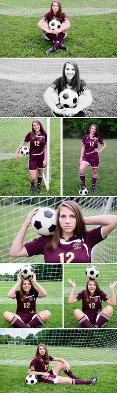 Senior Soccer Portraits | M Rose Photography
