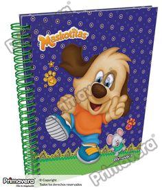 Cuaderno Pasta Dura Maskotitas http://escolar.papelesprimavera.com/product/cuaderno-pasta-dura-maskotitas-primavera-12/