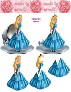 Disney's Alice, from Alice In Wonderland.
