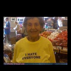 stuff old ladies like