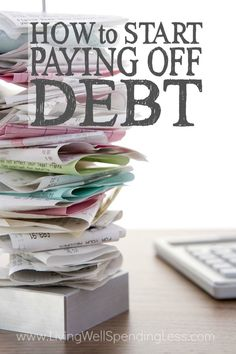 How to Start Paying Off Debt | Budgeting Tips | Money Saving Tips | Get Out Of Debt | Money Made Easy via lwsl