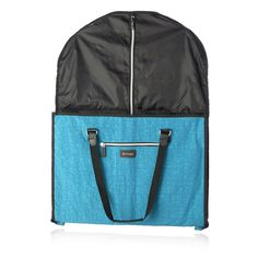 162553 - Biaggi Hangeroo Covertable Garment Bag by Lori Greiner - QVC Price: £39.00 + P&P: £3.95 in3 options The Biaggi Hangeroo is a convertible garment bag by Lori Greiner which stores suits, dresses and more and can be folded up to become a tote, with convenient handles to be hung onto a travel trolley.
