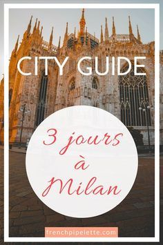 City guide : week-end à Milan, Italie. Romantic Vacations, Romantic Travel, Weekender, City Breaks Europe, Italy Places To Visit, Milan Travel, Milan City, Long Week-end, Italy Outfits