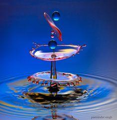 water drop by parminder singh