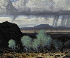 James Swinnerton-Black lava