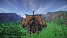 Viking Town Hall Minecraft Project Minecraft construction Minecraft Minecraft blueprints