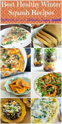 So many good recipes. I can't decide which to try first! Best Healthy Winter Squash Recipes