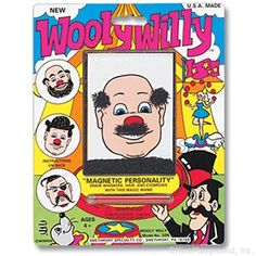 Wooly WillyFirst introduced in 1955, Wooly Willy is a classic magnetic toy.