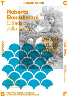 BONADIMANI °° Treviso Comic Book Festival Identity
