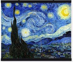 Find More Painting & Calligraphy Information about Original Quality Famous Vincent Van Gogh Oil Painting Reproductions on Canvas   Starry Night Impressionist Wall Pictures,High Quality reproduction art paintings,China painting reproduction Suppliers, Cheap reproduction oil painting from The Arts Road on Aliexpress.com