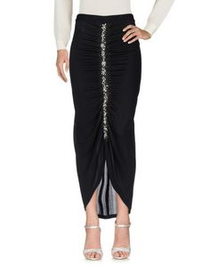 GAI MATTIOLO Women's Long skirt Black 10 US