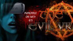 #EVILVR goes @GearVR @oculus. Available on WEDNESDAY 8/3. #GearVR #GoogleDaydream #Oculus #VRhorror #VR #indiedev #GalaxyS8 #indie #gaming