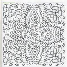 Irish lace, crochet, crochet patterns, clothing and decorations for the house, crocheted. Filet Crochet, Crochet Diagram, Crochet Chart, Thread Crochet, Irish Crochet, Knit Crochet, Crochet Motif Patterns, Crochet Blocks, Crochet Squares
