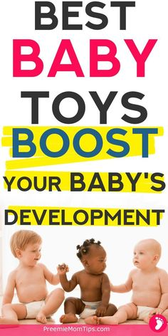 Best toys for baby development from newborn to 12 months old! Saty on top of milestones and get the right things to stimulate your baby's brain and muscles!