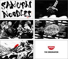 世界初の 「ハードボイルドコミック社史」 制作に先駆け インスタントラーメン誕生の物語を描いた「SAMURAI NOODLES」を公開   日清食品グループ