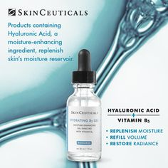 Did you know up to 70% of the skin is made of water? Daily dehydration results in loss of skin's volume, premature lines, and dullness. #SkinCeuticals #Barbaskinclinic