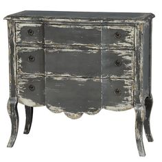 Found it at Wayfair - 3 Drawer Rustic Chest http://www.wayfair.com/daily-sales/p/Chic-Out%3A-Chests%2C-Decor-%26-More-3-Drawer-Rustic-Chest~PU4610~E23195.html?refid=SBP.rBAZEVXLe6sDrngnwyUtAp2HuMjGqEdgp0JEnUjHieI