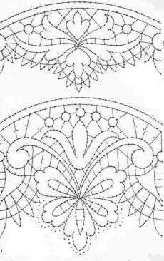 Hana no Mola Stencil Patterns, Mosaic Patterns, Textile Patterns, Quilt Patterns, Cutwork Embroidery, Border Embroidery, Embroidery Patterns, Bobbin Lace Patterns, Beaded Jewelry Patterns