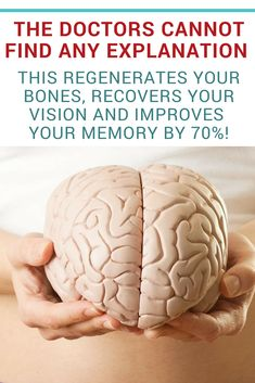 These natural tips will help you strengthen your memory, as well as make your brain work faster and regenerate your bones. Try them in your daily diet and you will not regret it! Natural remedies | Natural medicine | Remedies natural | Natural cure | Natural herbal remedies | Natural health remedies | natural diy | natural wellness | health natural #health #healthnatural #naturalremedies