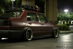 Down and stretched MK2 jetta