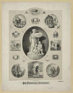 Secret Society Symbols, Odd Fellows, Masonic Symbols, Friendship Love, Freemasonry, Occult, Vignettes, Halloween Party, Photo Wall