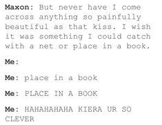 Haha very funny Kiera
