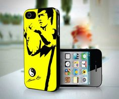 Bruce Lee Style Enter The Dragon Kung Fu design for iPhone 5 case