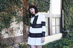 Get this look: http://lb.nu/look/8071464  More looks by Amy Roiland: http://lb.nu/afashionnerd  Items in this look:  Sister Jane Dress   #retro #romantic #vintage