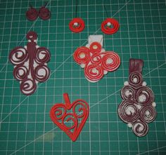 Makin's Clay Blog: Quilling/Soutache with Makin's Clay® by Kim Hale