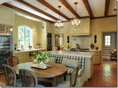 Eating Place House Eatery Country Kitchen Design
