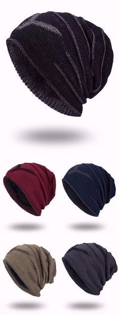 9ee6b07846e82 Double-Deck Thicken NY Knit Hat