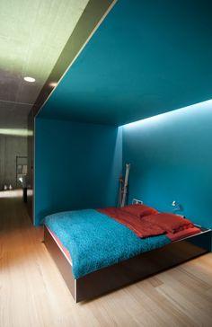 Bedroom, Haus Rüden, Switzerland