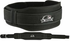 Weight Lifting Belts Gym Fitness Back Support 5.5 Wide Training Belt Black #BeSmart